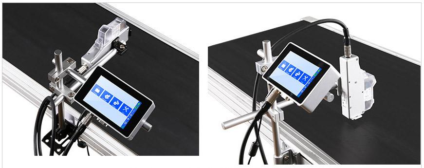 Термоструйный маркиратор Sojet Elfin IS Варианты установки